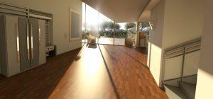 Ablakfóliázás előtt vakító napfény